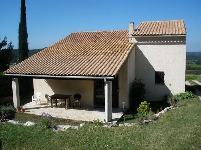 La Mouette - en af huset mange terrasser